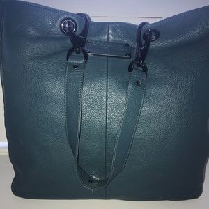 Kenneth Cole New York leather tote